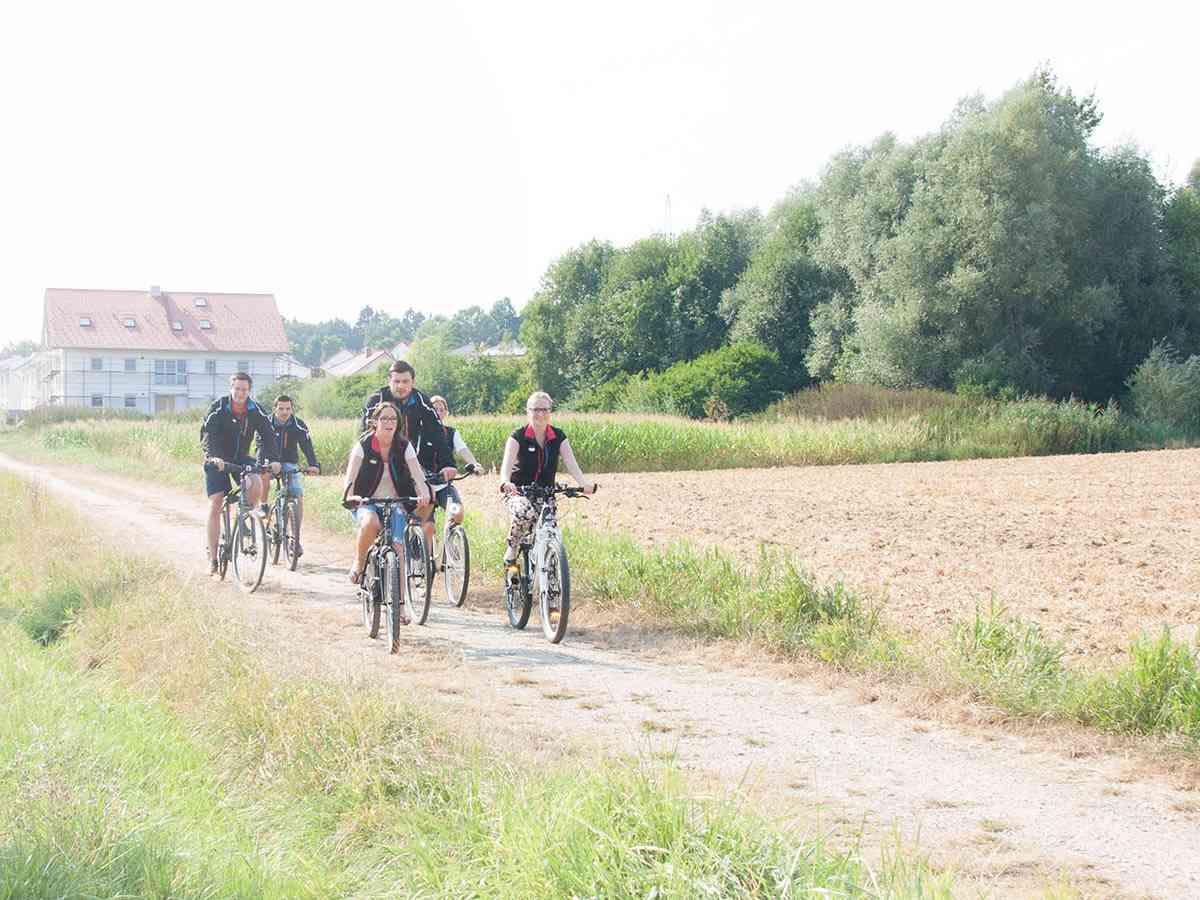 Auf dem Fahrrad: LaVita
