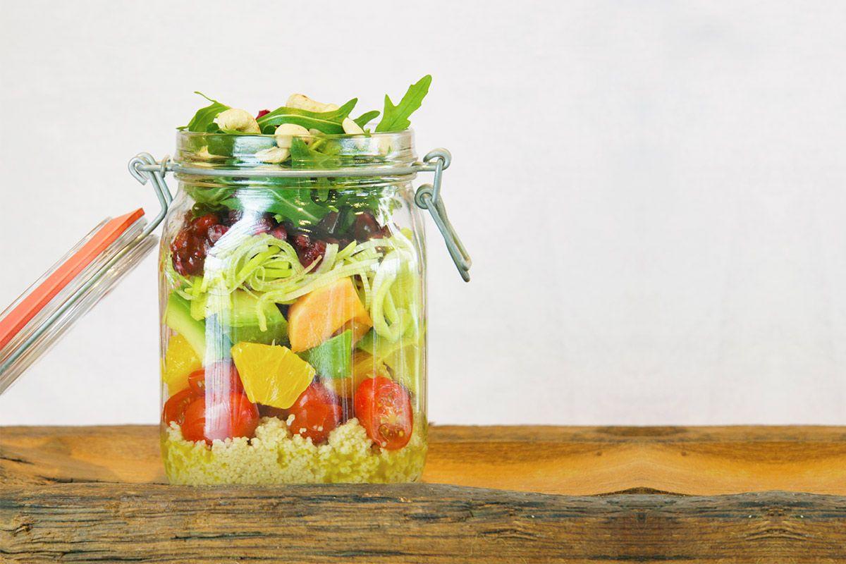 Salat to go - Rezept für mehr Frische