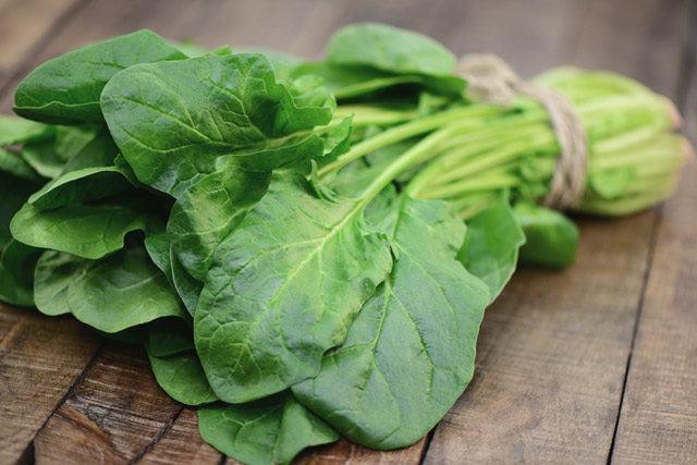 Zwar ist Spinat das ganze Jahr über erhältlich, im Frühling gibt es jedoch den besonders milden und geschmacklich ausgezeichneten Blattspinat.