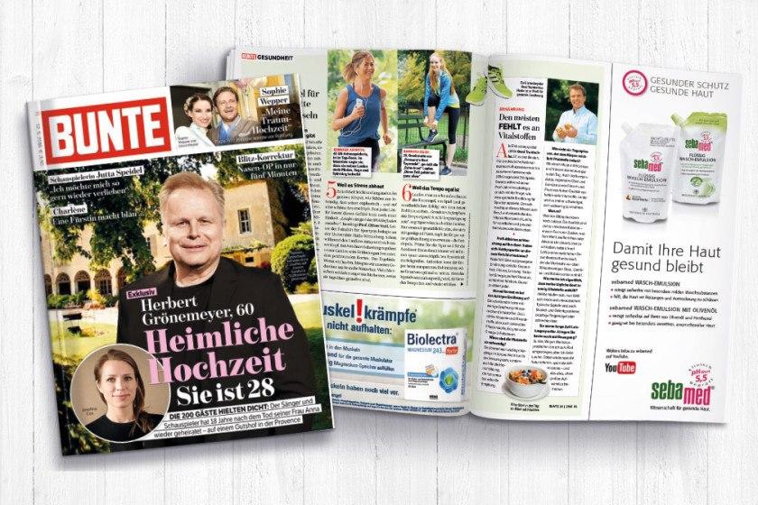 Gerd Truntschka im Interview mit der Zeitschrift BUNTE