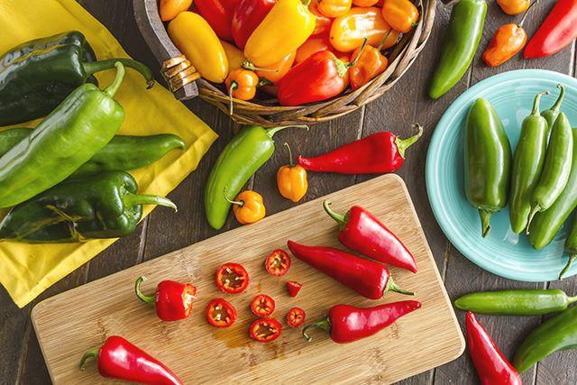 Chili, Paprika, Peperoni