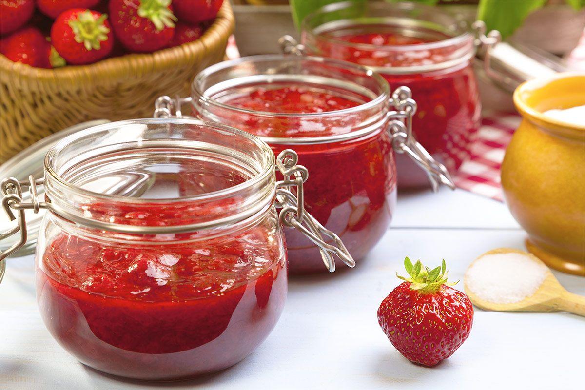 Erdbeer-Marmelade selber kochen
