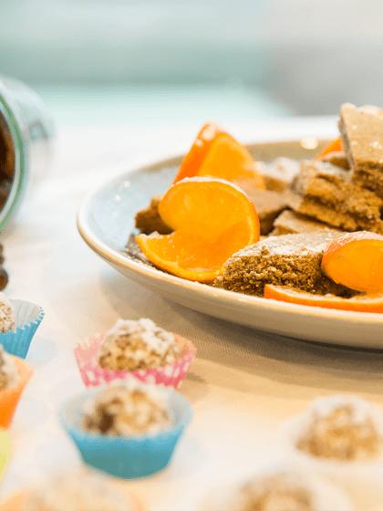 Vegan backen ohne Mehl: Feigen-Walnuss-Kekse & Dattel-Mandel-Kuge