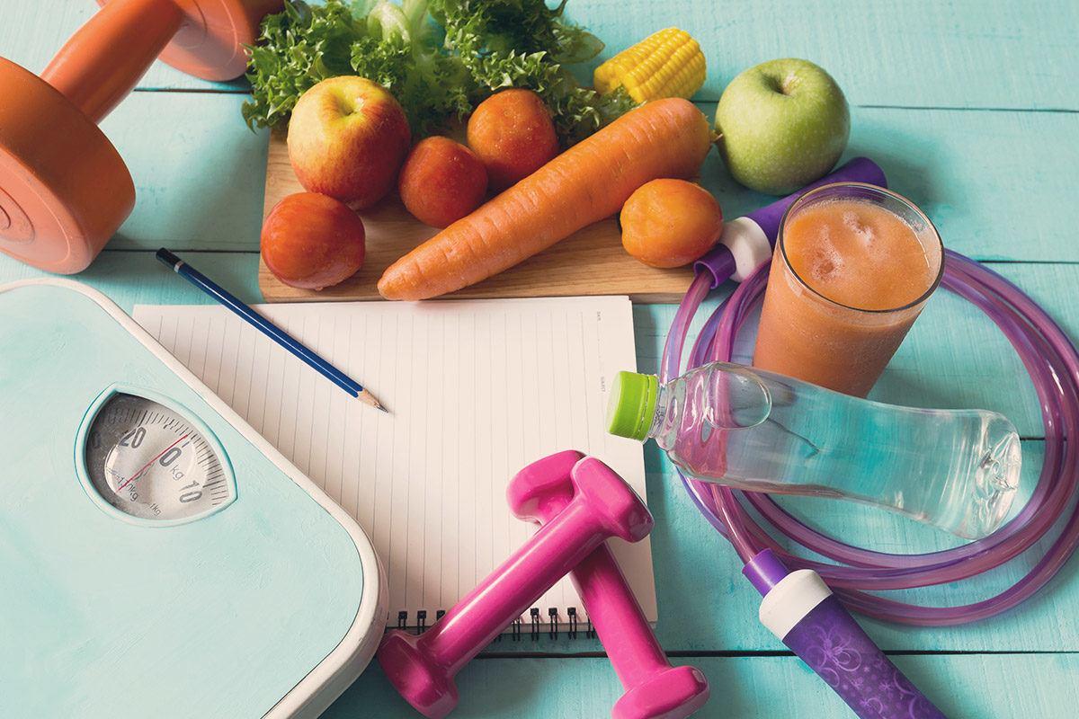 Gesund abnehmen funktioniert nur, wenn die Lebensweise dauerhaft umgestellt wird.