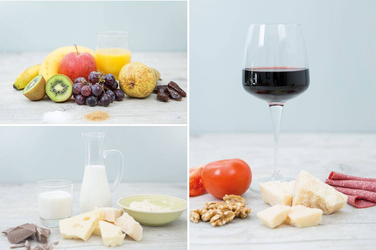 Lactoseintoleranz, Fructoseintoleranz und Histaminintoleranz sind die häufigsten Nahrungsmittelunverträglichkeiten