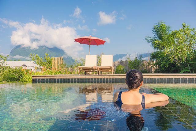 Gesunder Urlaub: Auch Relaxen gehört neben Aktivität und gutem Essen dazu.