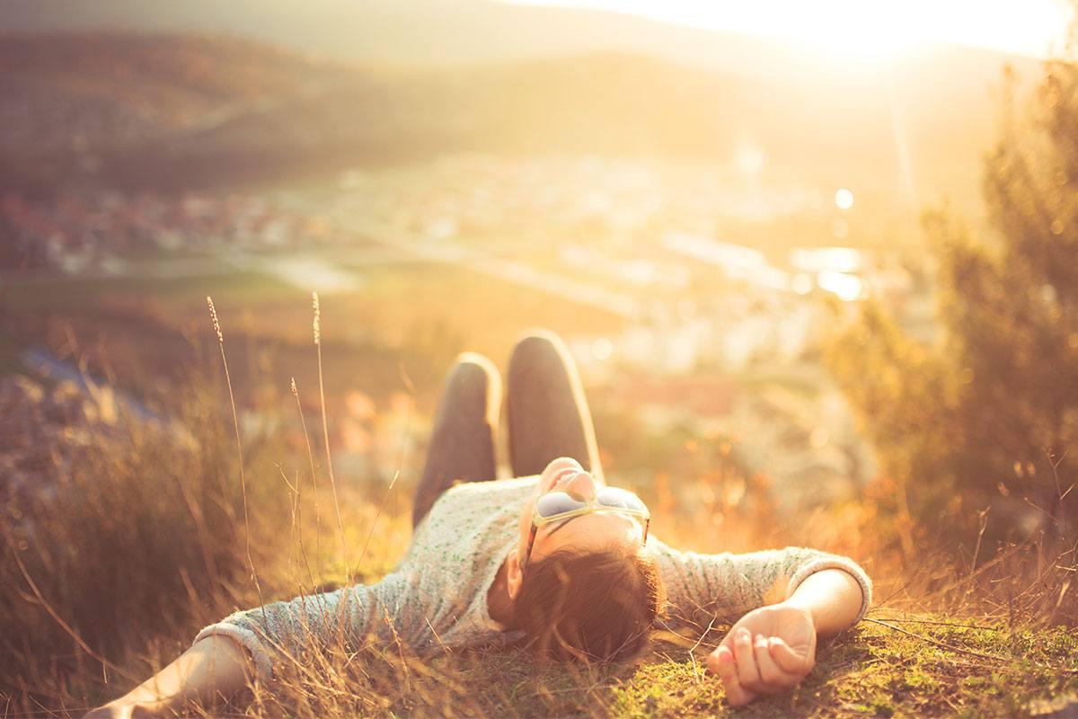 Einfach glücklich sein! Werde zum Optimisten