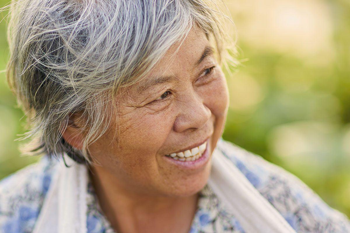 Auf Okinawa werden die Menschen besonders oft 100 Jahre alt.
