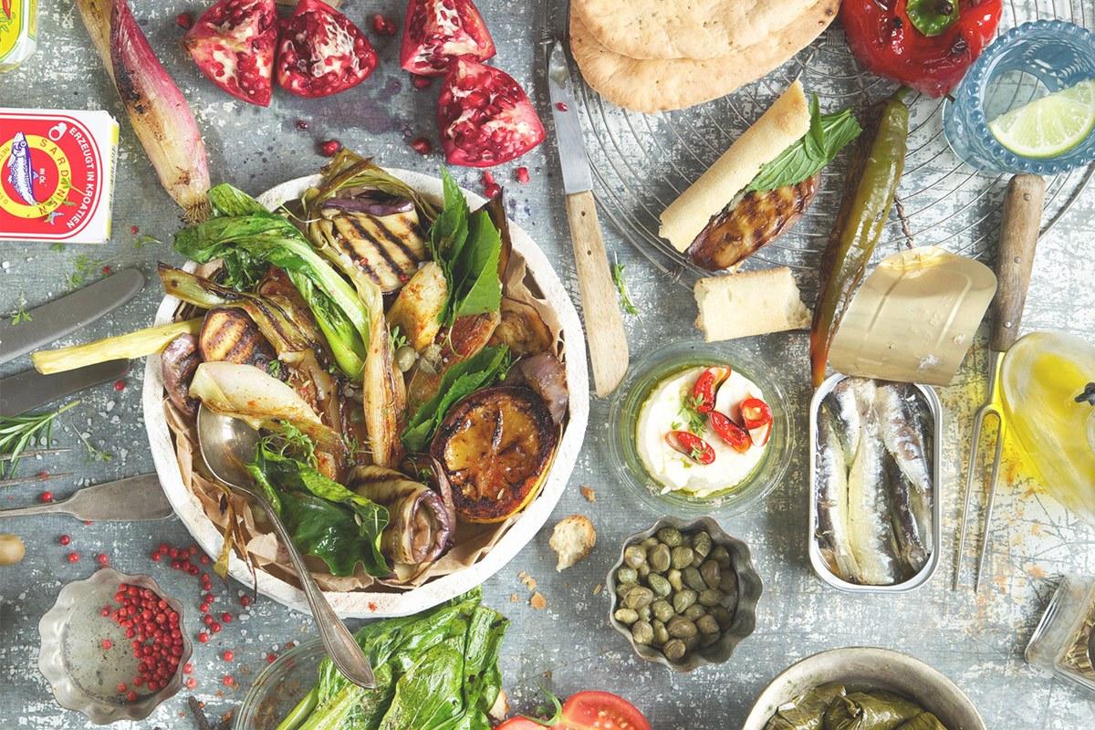 Mediterrane Ernährung schützt vor vorzeitiger Alterung und Krankheiten