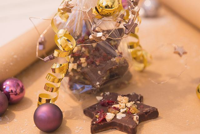 Schokolade zu Weihnachten selber machen