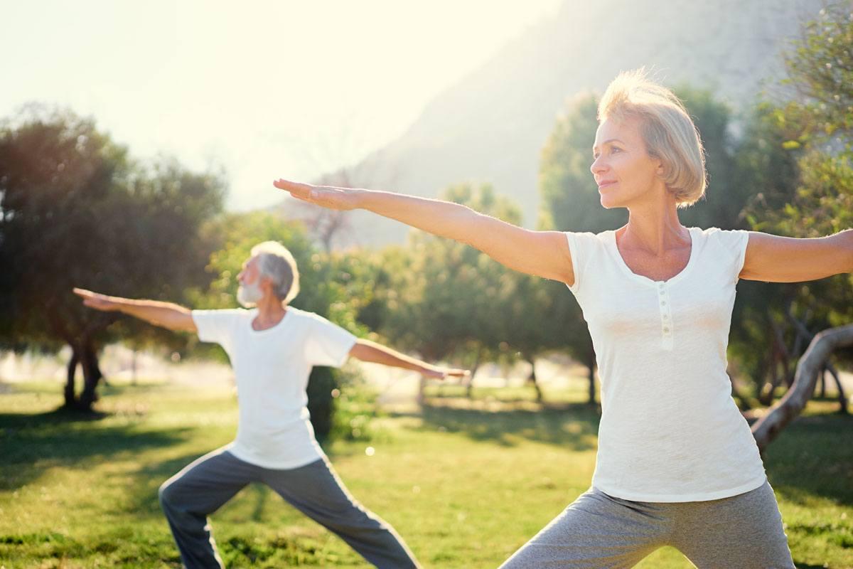Bewegung und Entspannung senken den Blutdruck