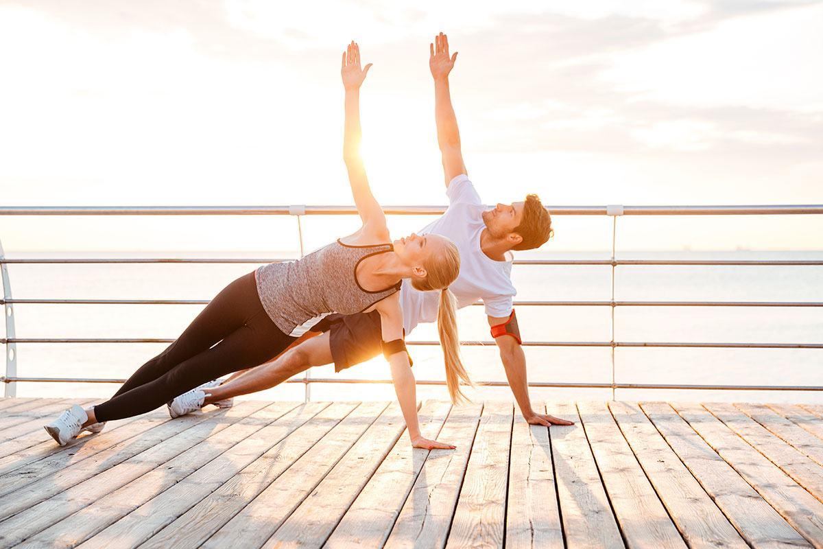 Zum Fasten gehört auch Bewegung und vor allem Entspannung.