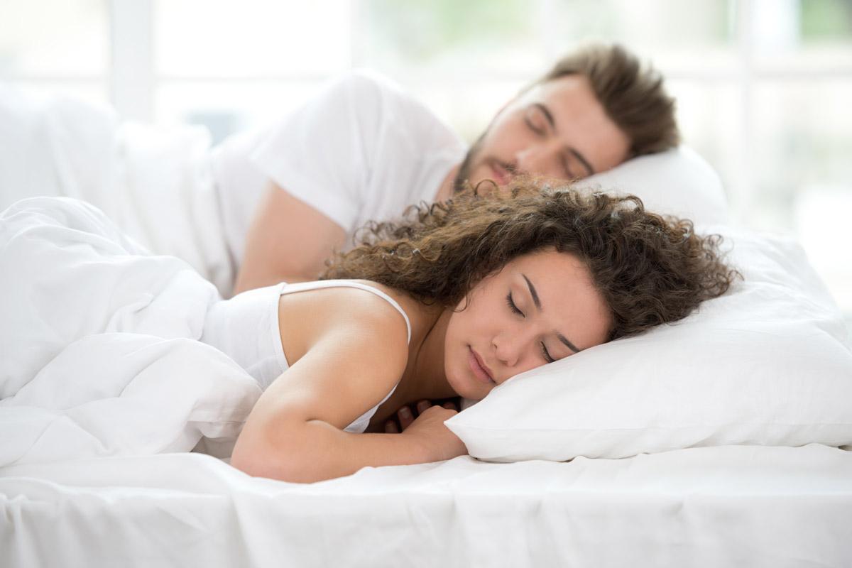 Auch was wir essen beeinflusst wie gut wie schlafen.