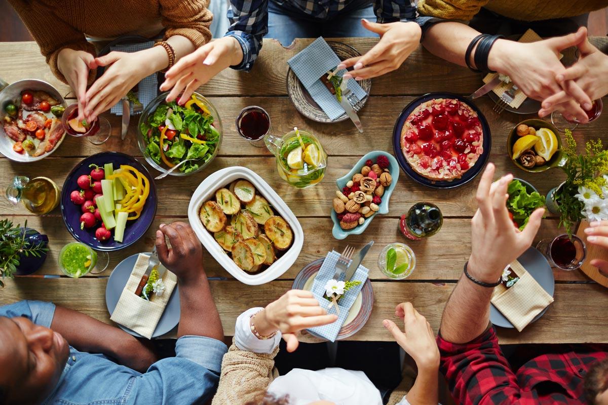 Ausgewogen, regional und naturbelassen - so einfach ist gesund essen!