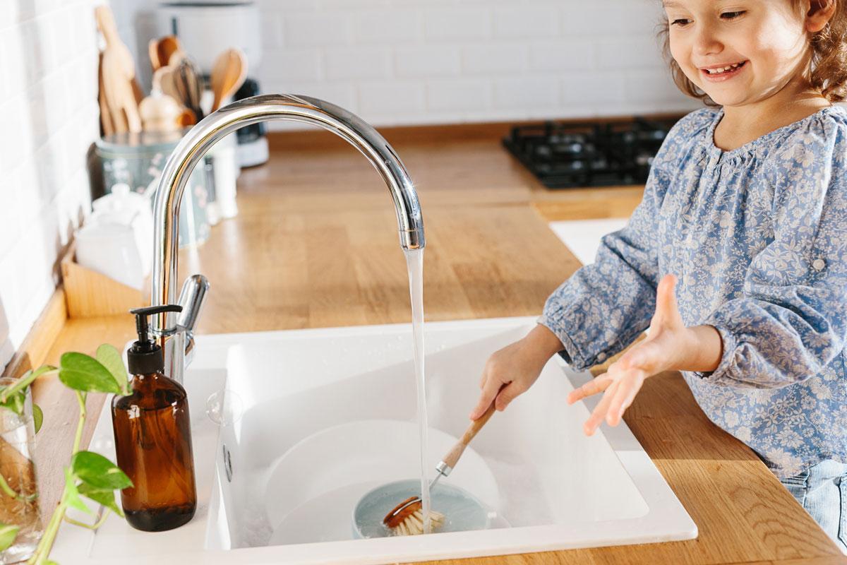 Saubere Sache: Putzen geht auch ganz natürlich.