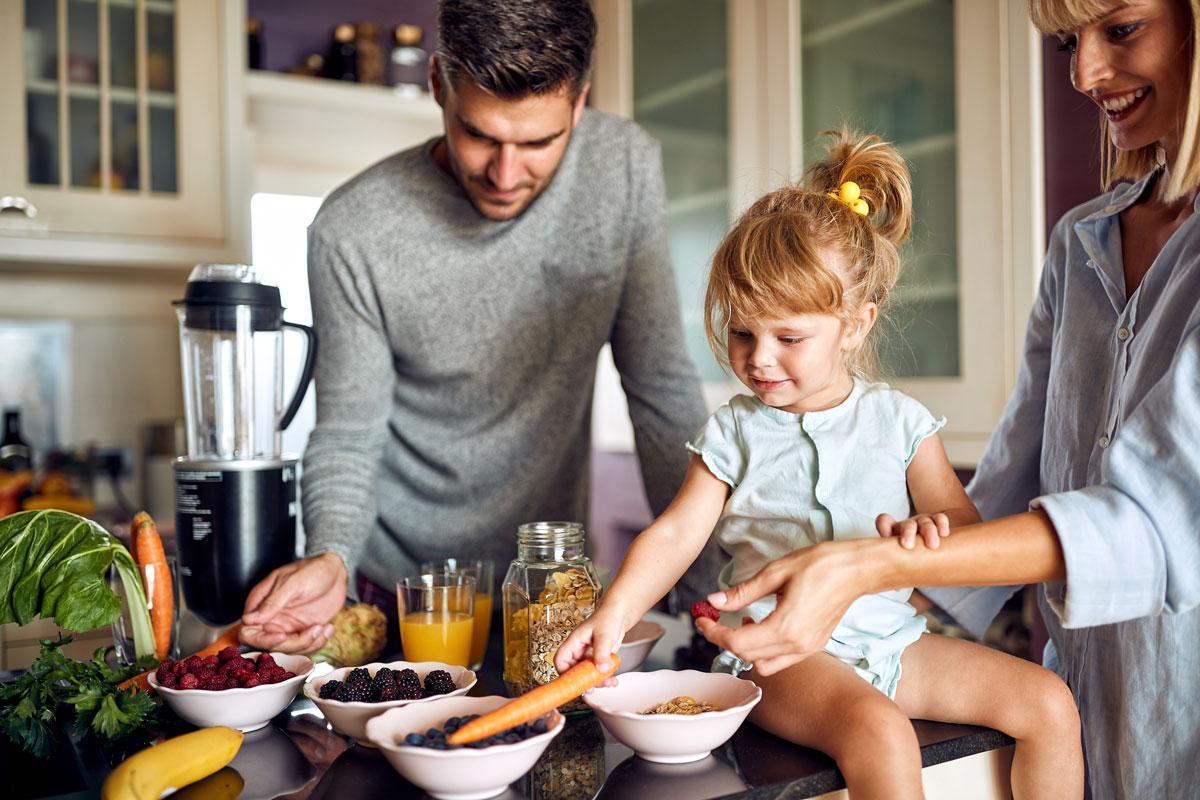 Das richtige Frühstück schenkt uns Energie für den Tag.